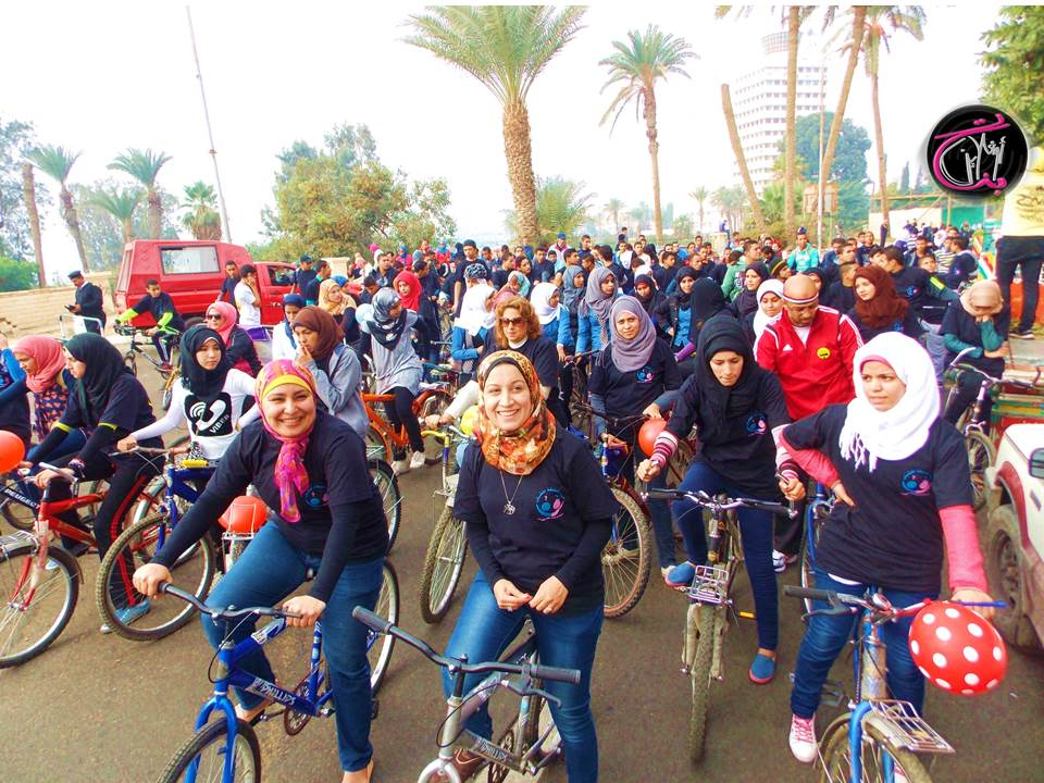 Photo of ماراثون لا للتحرش …. بتنظيم من الجمعية المصرية لتنظيم الاسرة بالاسماعيلية وفريق cyclists